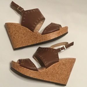 Cato's wedge sandals size 9